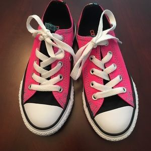 Brand new, never worn girls Converse
